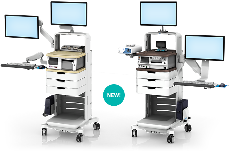 fetal monitoring workstations gcx medical mounting solutions